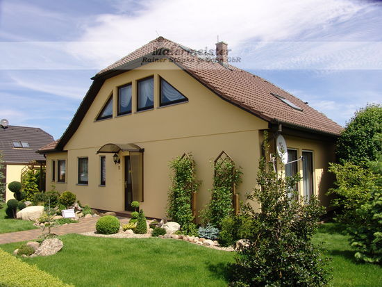 Fassade Einfamilienhaus Deulowitz