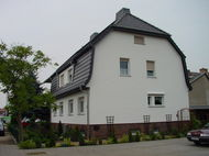 Fassade Zweifamilienhaus Guben